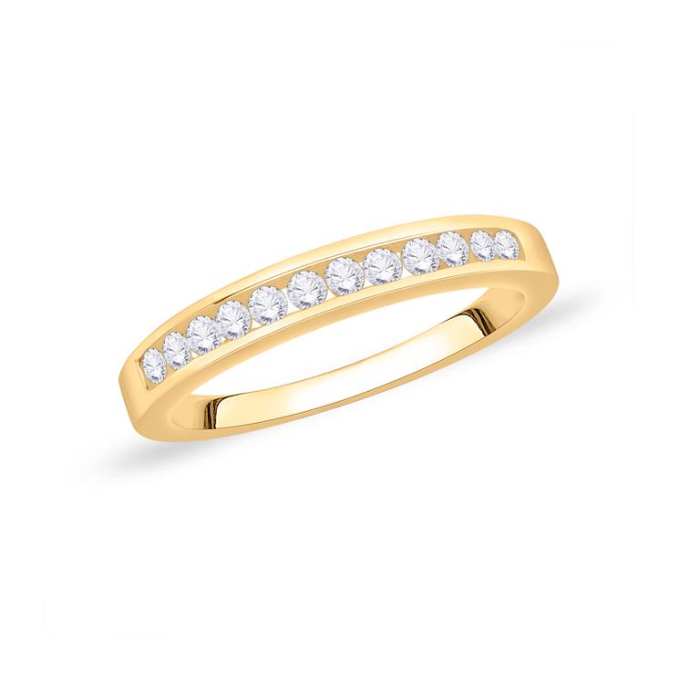 9ct Gold Diamond Eternity Ring